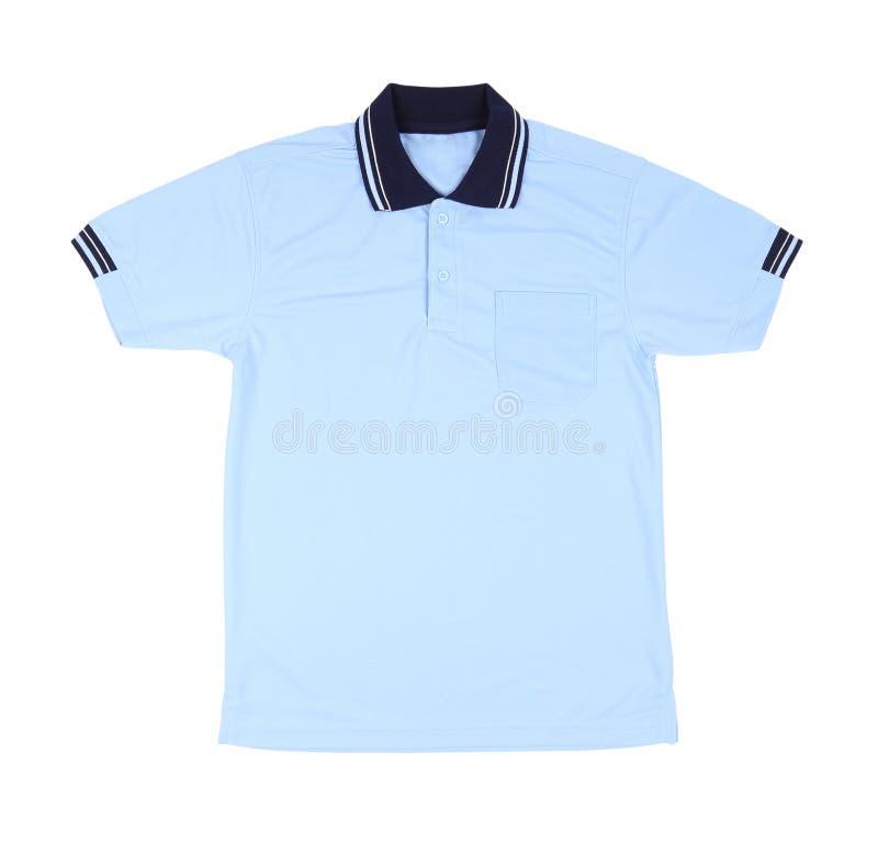 Пустая рубашка поло стоковое фото rf