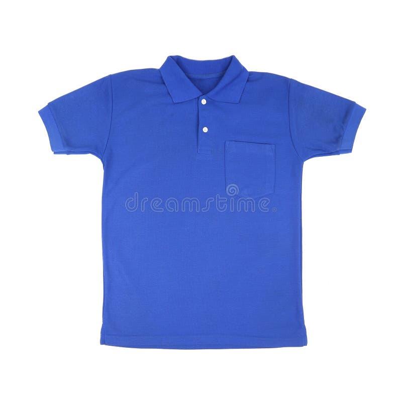 Пустая рубашка поло стоковое изображение