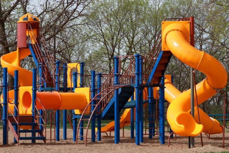 Пустая спортивная площадка Children's стоковое фото