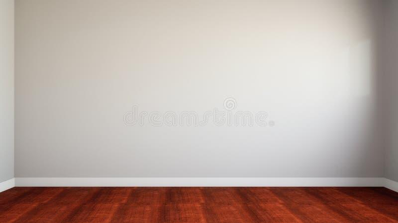 пустая стена потерянной домашней стены белизны иллюстрации оборудования 3d бесплатная иллюстрация
