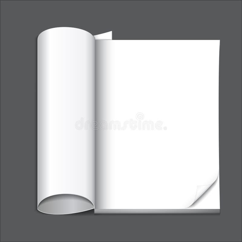 Download Пустая страница кассеты иллюстрация вектора. иллюстрации насчитывающей жизнь - 37931418