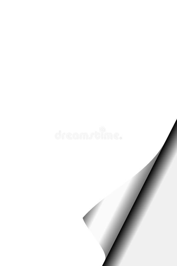 пустая страница стоковое изображение