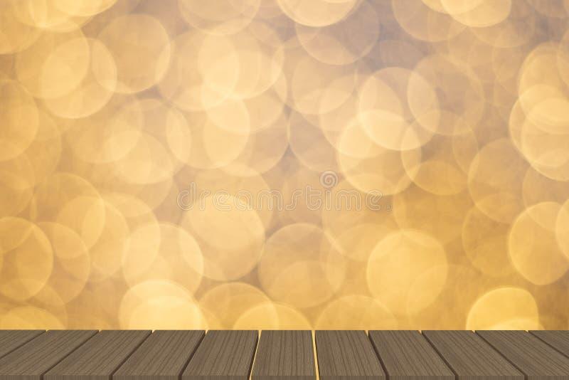 Пустая таблица перед светлой предпосылкой стоковое фото