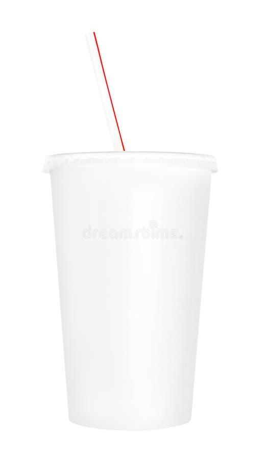 Пустая чашка безалкогольного напитка стоковая фотография