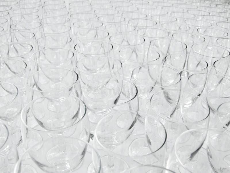 пустое вино стекел стоковая фотография