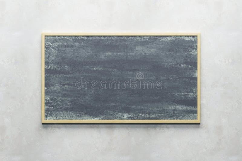 Пустое классн классный на стене иллюстрация штока