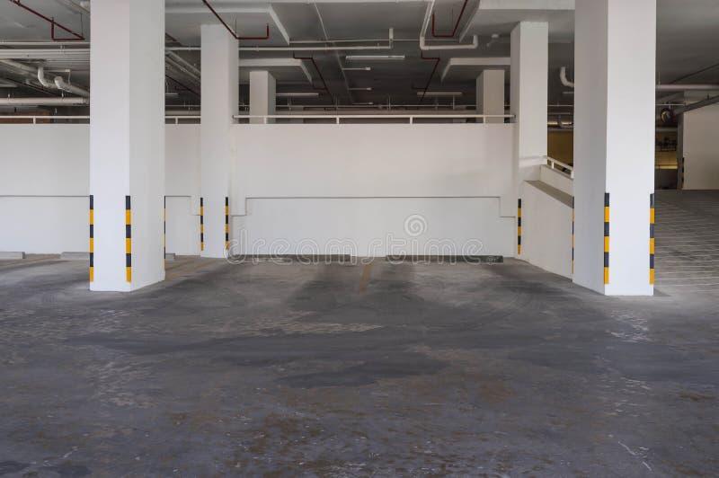 Пустое место для стоянки стоковая фотография