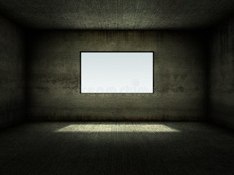 пустое окно комнаты бесплатная иллюстрация