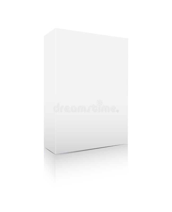 пустое ПО коробки иллюстрация вектора
