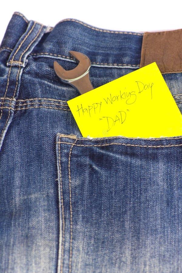 Download Пустое примечание в карманн джинсов. Стоковое Изображение - изображение насчитывающей текстурировано, denim: 33734623