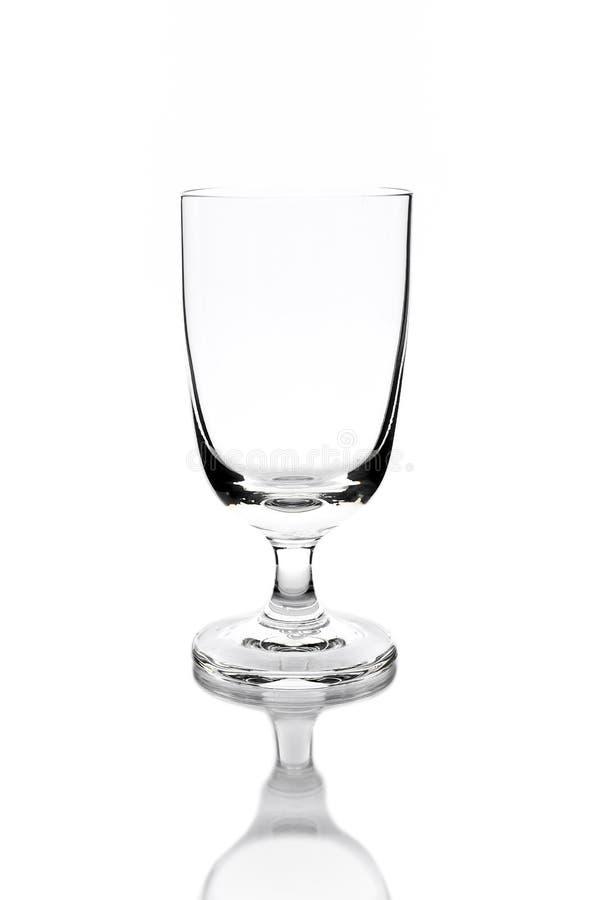 Download Пустое стекло изолированное на белизне Стоковое Изображение - изображение насчитывающей alchemy, торжество: 37929415