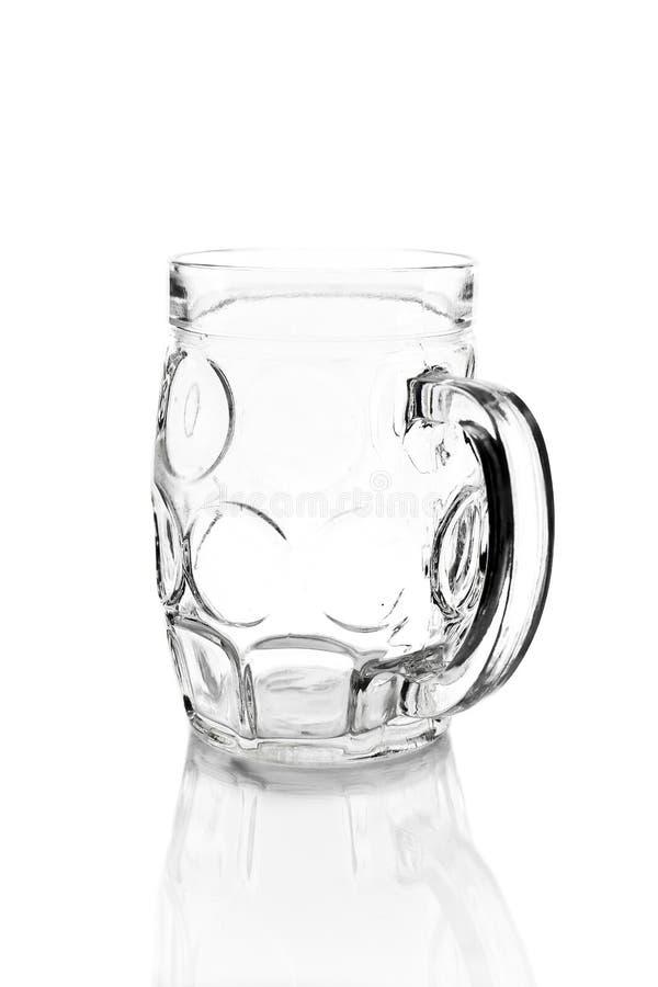 Download Пустое стекло изолированное на белизне Стоковое Изображение - изображение насчитывающей одно, коктеил: 37929461