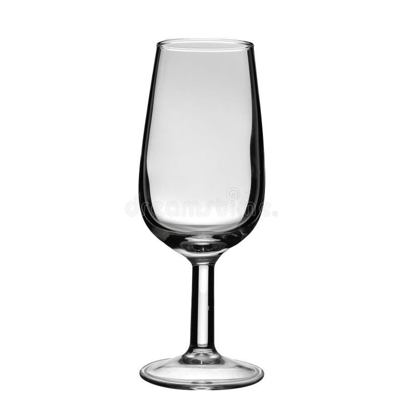 Пустое стекло хереса стоковые фотографии rf
