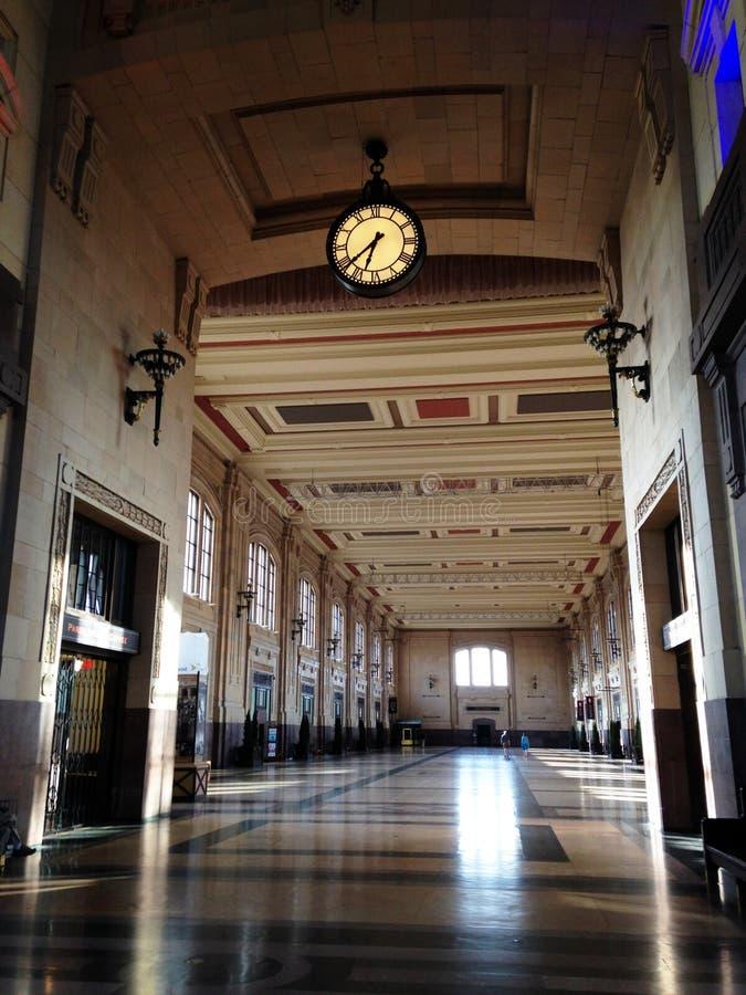 Пустой большой Hall станции соединения в Kansas City стоковая фотография