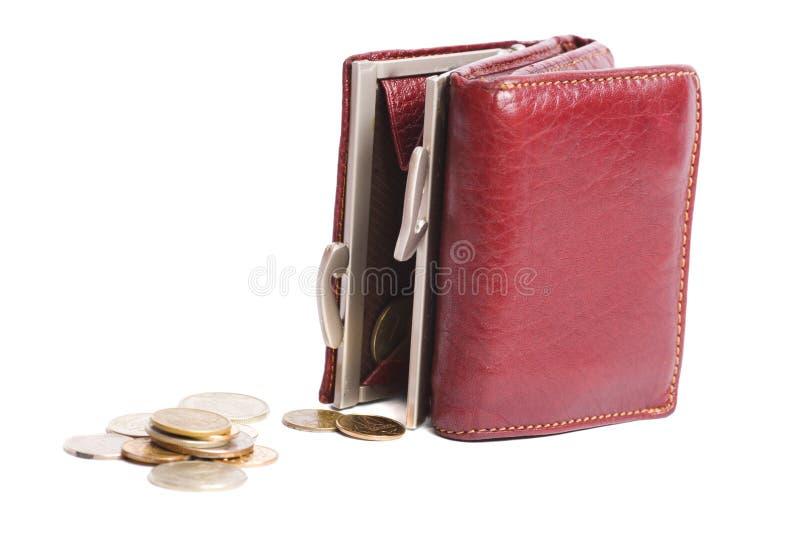 пустой бумажник стоковые изображения