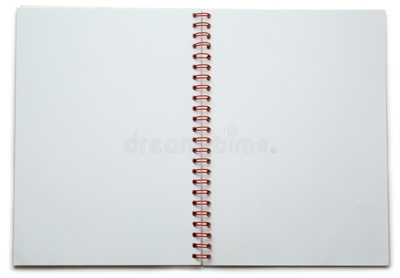 Пустой блокнот стоковая фотография rf