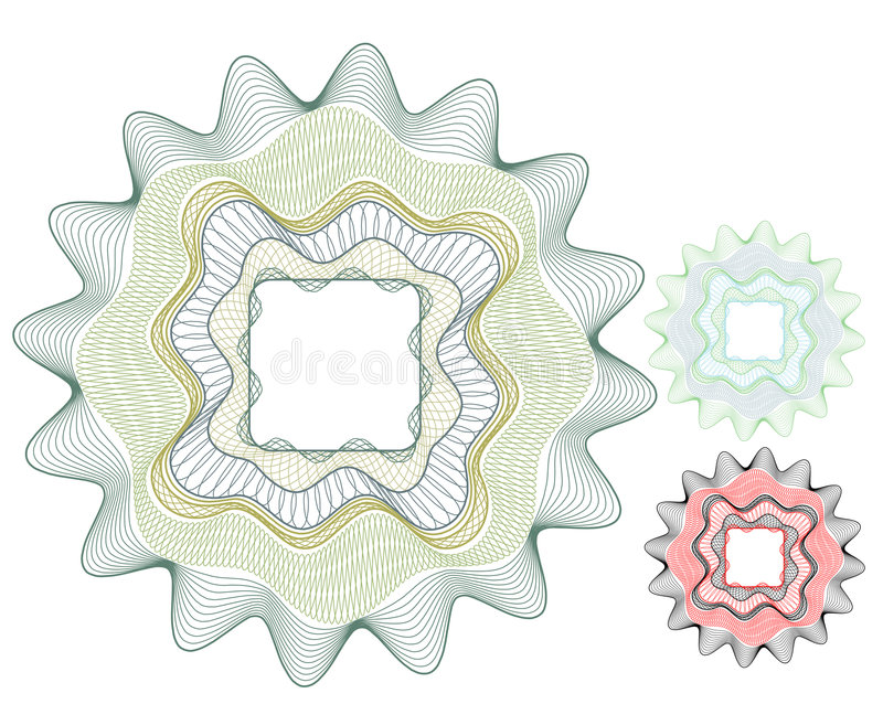 пустой вектор дег элемента сертификата бесплатная иллюстрация
