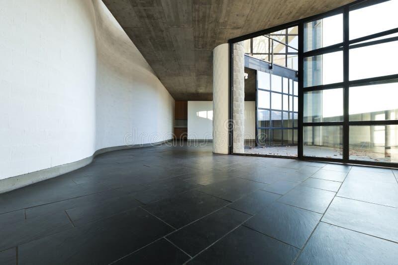 пустой взгляд комнаты стоковое фото rf