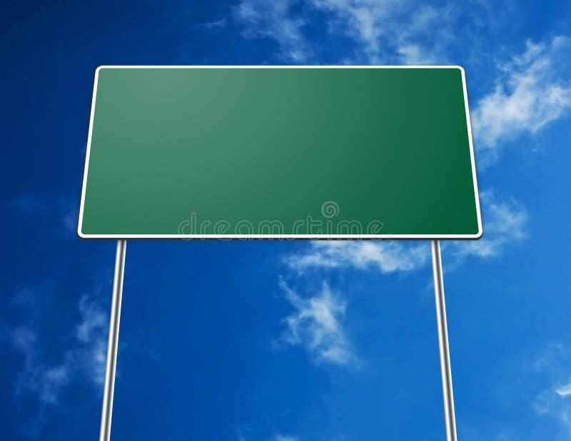 пустой дорожный знак стоковые изображения