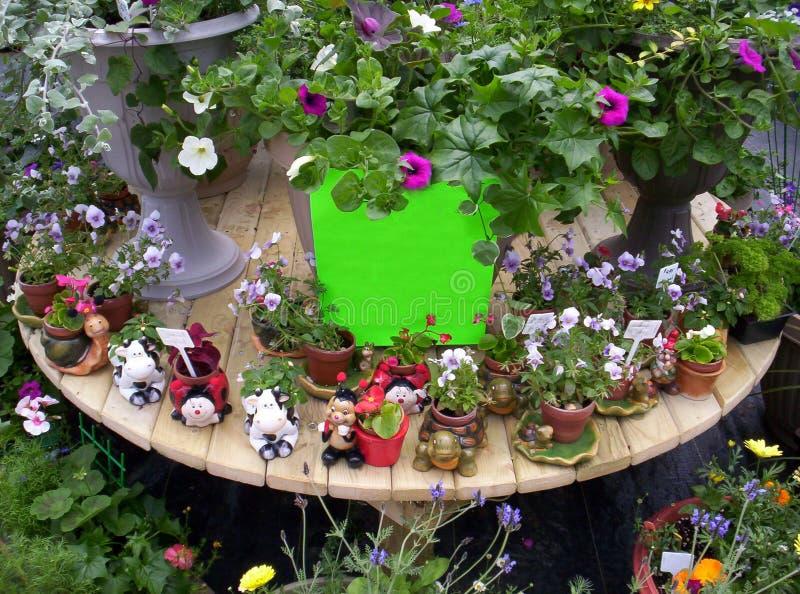 Download пустой знак цветков стоковое фото. изображение насчитывающей садоводство - 485996