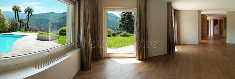 пустой интерьер дома стоковое изображение rf