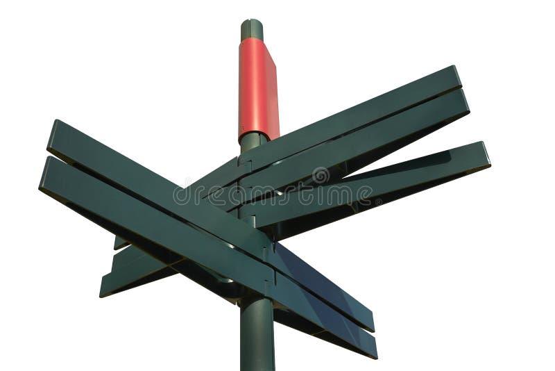 Download Пустой дирекционный столб знака (путь клиппирования) Стоковое Изображение - изображение насчитывающей bluets, небо: 37928795