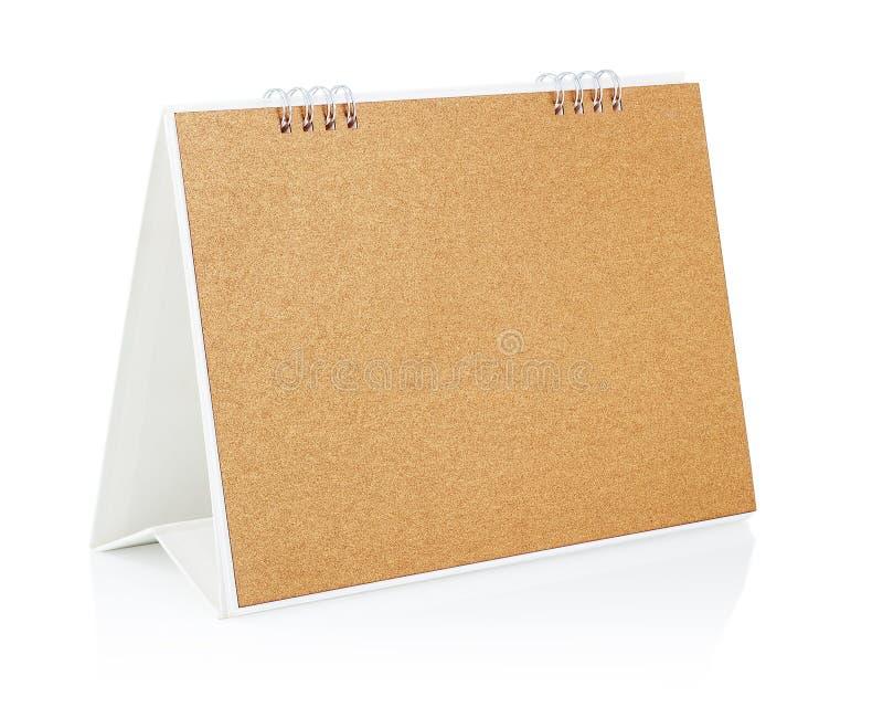 Пустой календар настольного компьютера. стоковые фотографии rf
