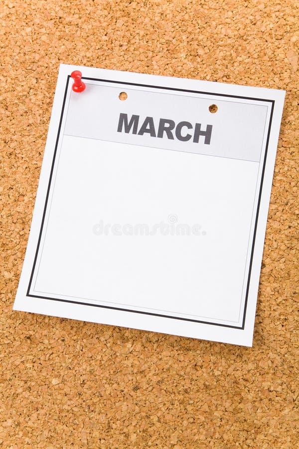 пустой календар стоковое фото rf