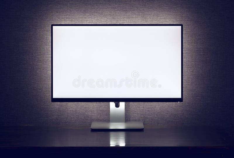 Пустой монитор с backlight стоковые фото
