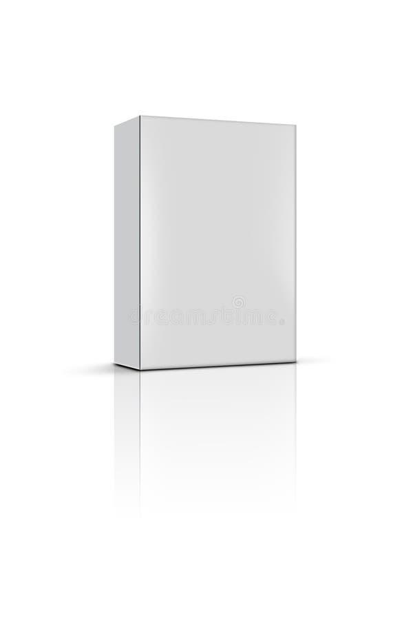 пустой продукт коробки иллюстрация штока