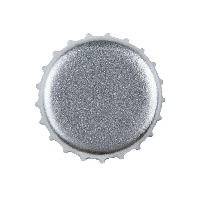 пустой путь клиппирования крышки бутылки стоковое изображение rf
