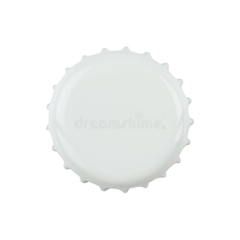 пустой путь клиппирования крышки бутылки стоковое изображение