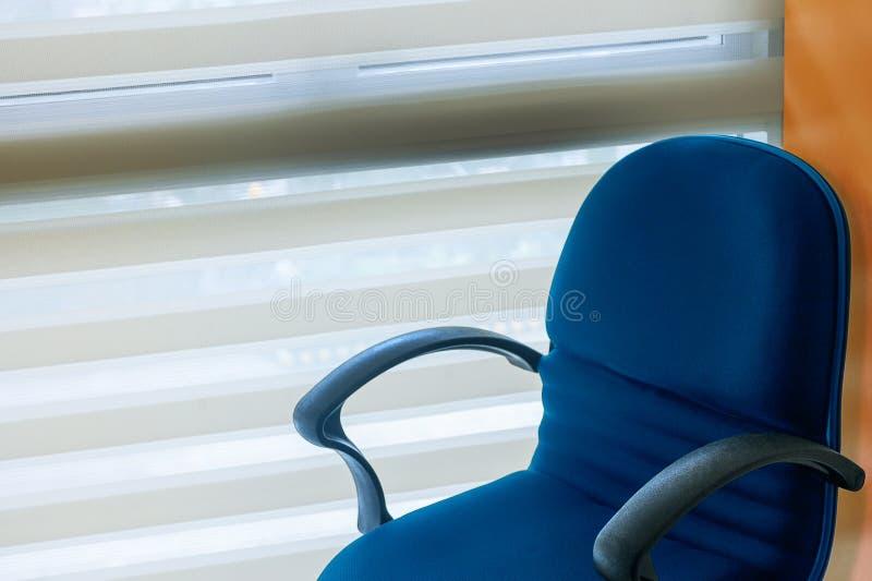 Пустой стул офиса стоковое изображение rf