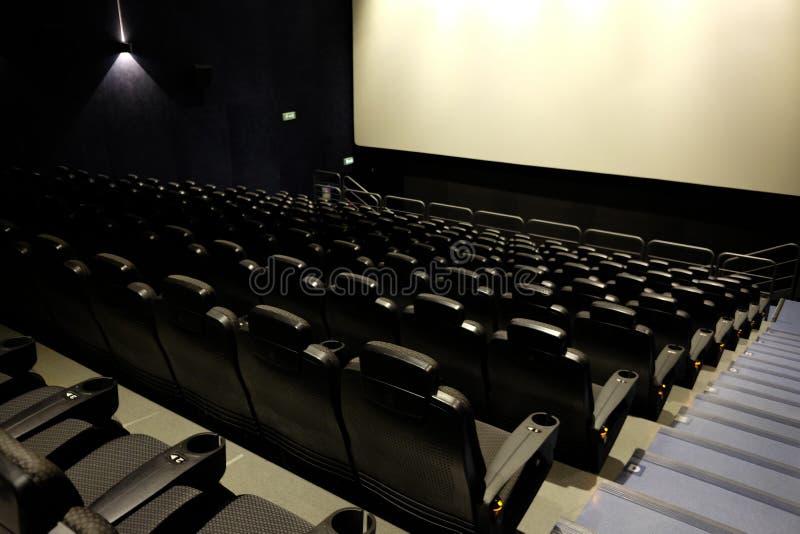пустой театр кино стоковые фото