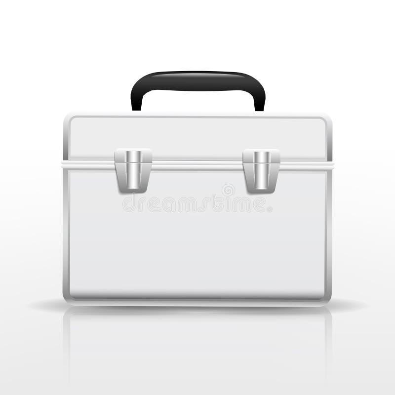 Пустой чемодан иллюстрация вектора
