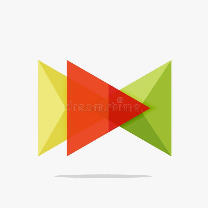 Download Пустой шаблон дела плана треугольника Иллюстрация вектора - иллюстрации насчитывающей наконечников, arron: 81805284