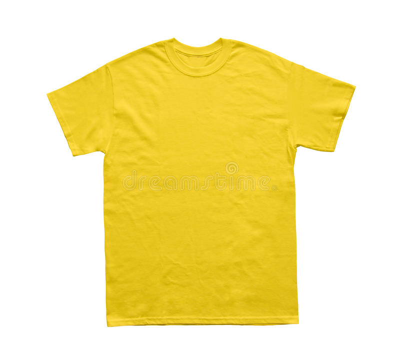 Пустой шаблон маргаритки цвета футболки стоковое фото