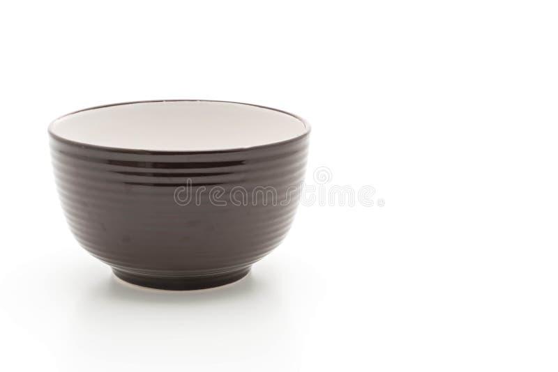 Пустой шар на белизне стоковая фотография