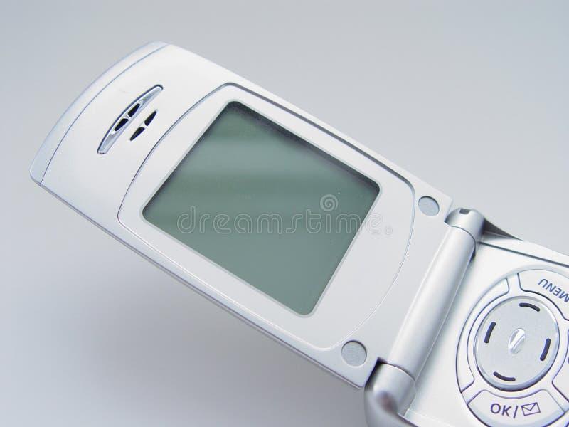 пустой экран сотового телефона
