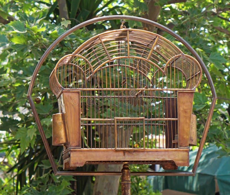 Пустой birdcage стоковое изображение