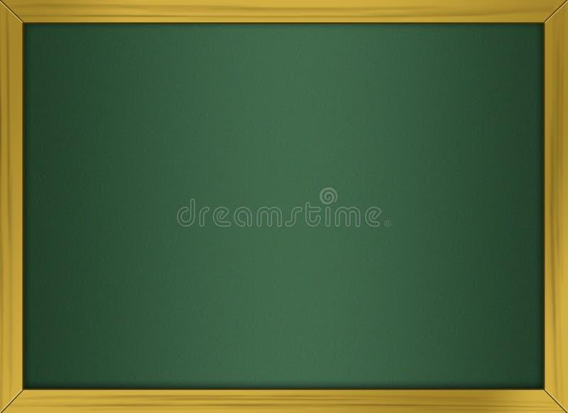 пустой chalkboard 3d иллюстрация штока