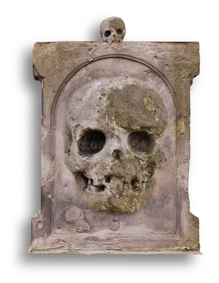 пустой gravestone старый стоковые изображения