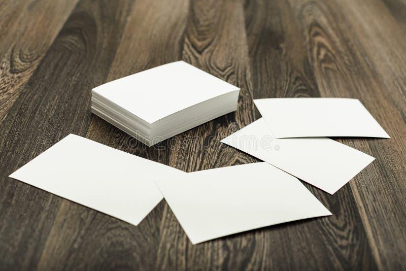 пустые визитные карточки стоковое изображение