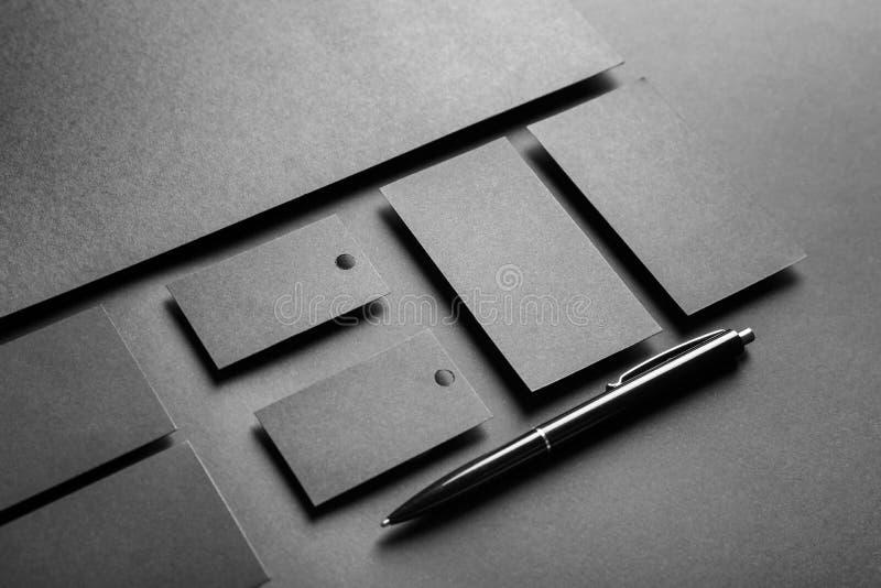 Пустые детали как модель-макеты для клеймить стоковые фото