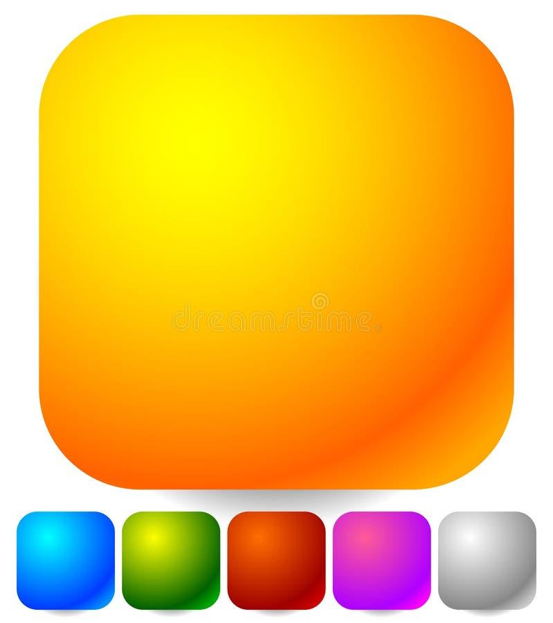 Download Пустые значки, кнопки как общий дизайн, выдвиженческие элементы Иллюстрация вектора - иллюстрации насчитывающей свободно, иллюстрация: 81813790