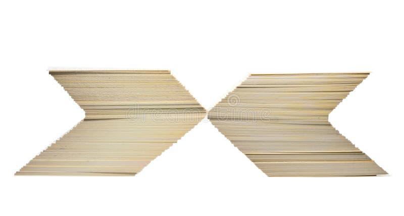 пустые карточки подписывают штабелированный x стоковая фотография