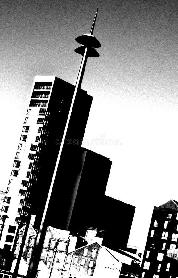 Пустые квартиры стоковое изображение rf