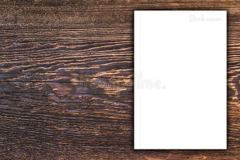 Пустые книга или обложка журнала стоковые изображения
