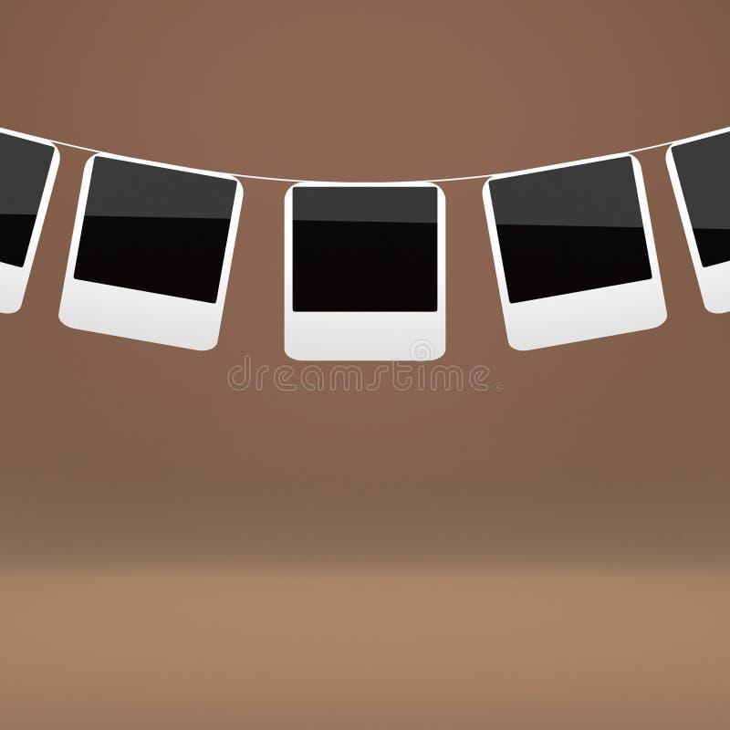 пустые немедленные печати фото бесплатная иллюстрация
