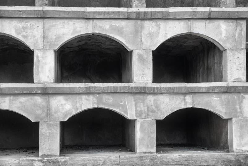 Пустые ниши стоковая фотография rf